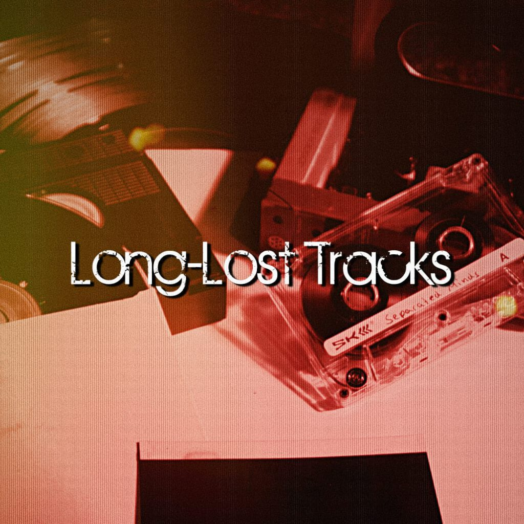 CD cover Long-Lost Tracks EP